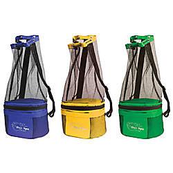 Beach Bag: Mesh Beach Bag With Cooler