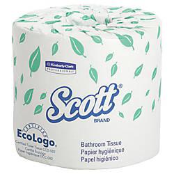 Scott 100percent Recycled 2 Ply Bathroom