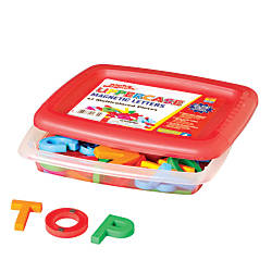AlphaMagnets Uppercase Letters Assorted Colors Pack