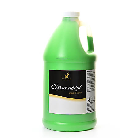 Chroma chromacryl students acrylic paint 0 5 gallon light for Chroma acrylic mural paint review