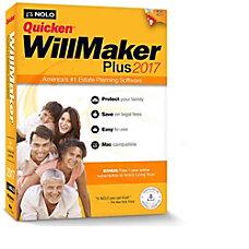 Quicken WillMaker Plus 2017 Mac Download