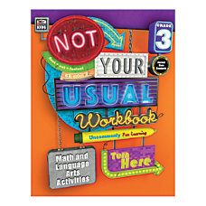 Thinking Kids Not Your Usual Workbook