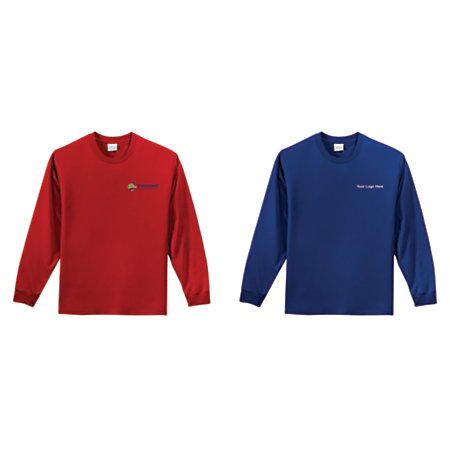 Heavyweight Long Sleeved T Shirt By Office Depot Officemax