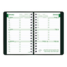 Brownline EcoLogix 100percent Recycled Weekly Planner