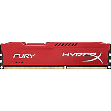 Kingston HyperX Fury Memory Red 8GB