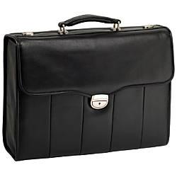McKleinUSA North Park Leather Briefcase Black