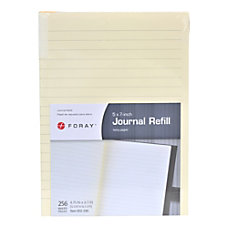 FORAY Italian Leather Journal Refill 4