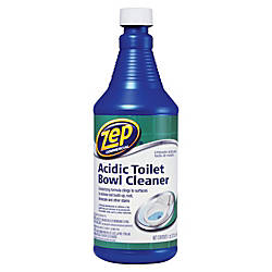 Zep Acidic Toilet Bowl Cleaner 32 Oz By Office Depot