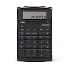Ativa Executive Calculator Bundle BlackRed