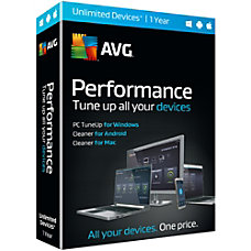 AVG Performance 2016 1 Year Download