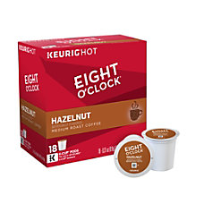Eight OClock Pods Hazelnut Coffee K