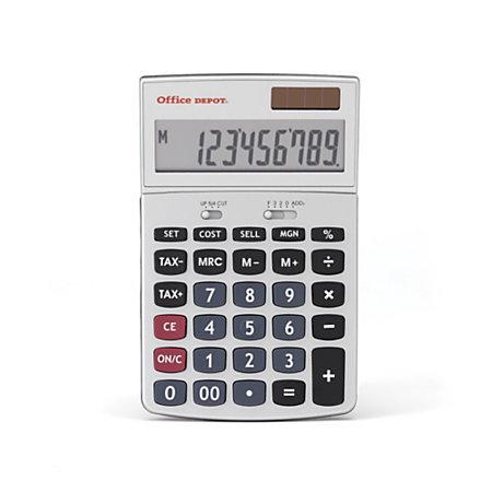 Office Depot Brand Dx130tcsm Professional Desktop Calculator