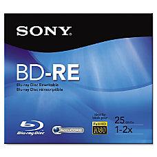 Sony Rewritable Blu ray Disc 25GB