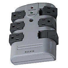 Belkin Wall Mounted Surge Protector With