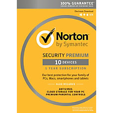 Norton Security Premium 1 Year Subscription