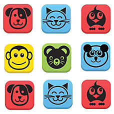 Flipside Student Animal Whitebrd Eraser Set