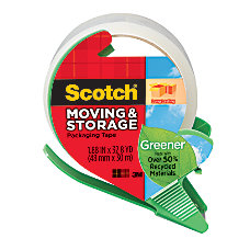 Scotch 50percent Recycled Long Lasting Moving