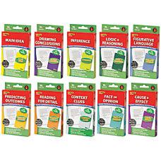 Edupress Reading Comprehension Practice Cards Green