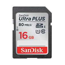 SanDisk Ultra PLUS SDHC Memory Card