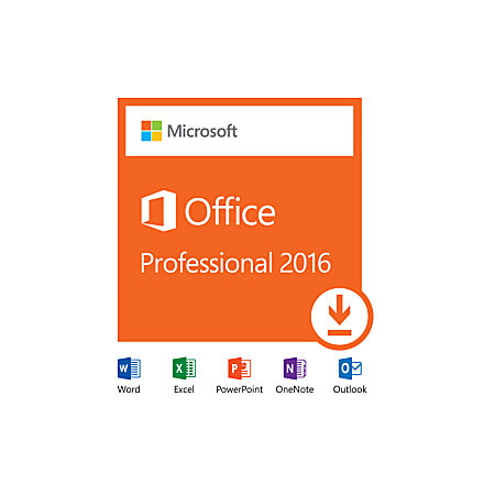 microsoft office professional 2016 download version by office depot officemax. Black Bedroom Furniture Sets. Home Design Ideas