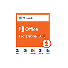 Microsoft Office Professional 2016 Download Version