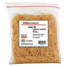 Office Depot Brand Rubber Bands 19