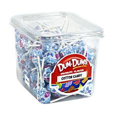 Dum Dum Lollipops Cotton Candy 1