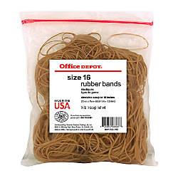 Office Depot Brand Rubber Bands 16