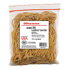 Office Depot Brand Rubber Bands 33