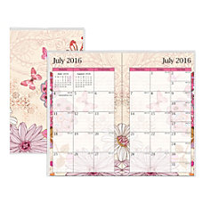 Blue Sky 18 Month Monthly Planner