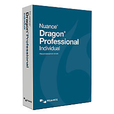Nuance Dragon Professional Individual Traditional Disc