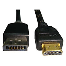 Unirise HDMI Male to Displayport Male