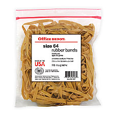 Office Depot Brand Rubber Bands 64