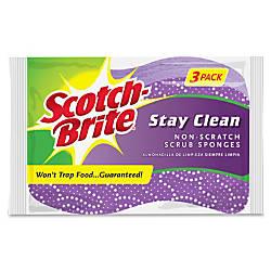 Scotch Brite Brite Stay Clean Scrub