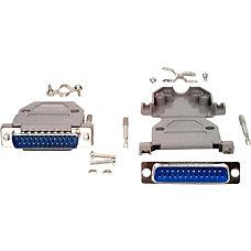 StarTechcom Assembled DB25 Male Solder D