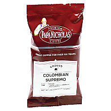 PapaNicholas Coffee Colombian Supremo Coffee Packets
