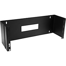 StarTechcom 4U 19in Hinged Wall Mounting