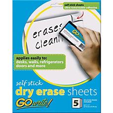 Pacon GoWrite Adhesive Dry Erase Sheet