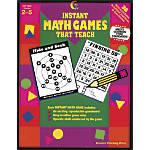 Creative Teaching Press Math Games That