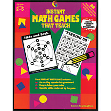 Creative Teaching Press Math Games That