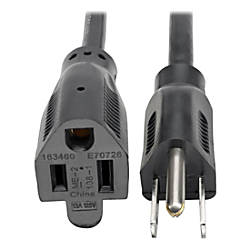 Tripp Lite 1ft Power Cord Extension