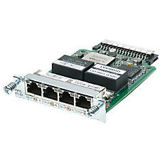 Cisco 4 Port Clear Channel T1E1