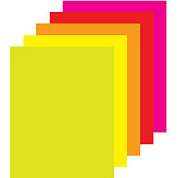 Office Depot Brand Fluorescent Poster Boards