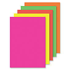 Office Depot Brand Fluorescent Poster Boards