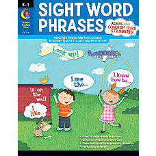 Creative Teaching Press Sight Word Phrases