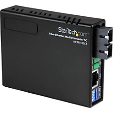 StarTechcom 10100 Fiber to Ethernet Media
