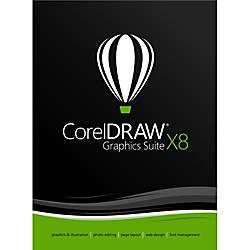 CorelDRAW Graphics Suite X8 Upgrade Download