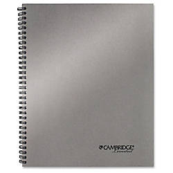 Mead Silver 11 Metallic Notebook Twin