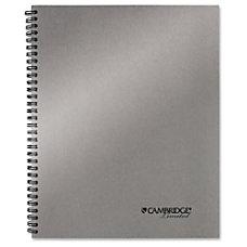 Mead Silver 11 Metallic Notebook Printed