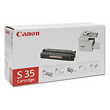 Canon S35 Black Toner Cartridge 7833A001